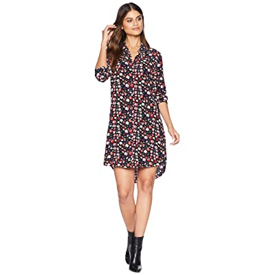 EQUIPMENT Essential Dress (True Black Multi) Women