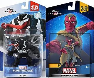 Marvel Infinity Super Hero Bundle Avengers Vision Character Figure & Venom Villain & Hero combo Pack