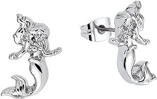 Disney Couture Little Mermaid Stud Earrings