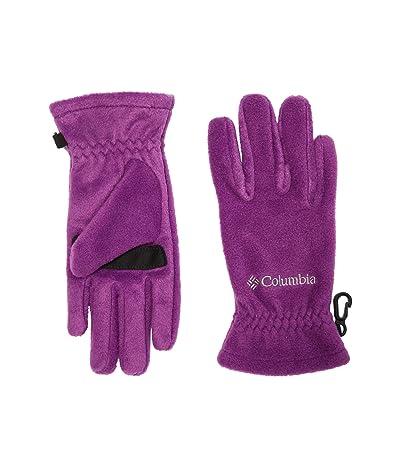 Columbia Kids Thermaratortm Glove (Big Kids) (Plum) Extreme Cold Weather Gloves