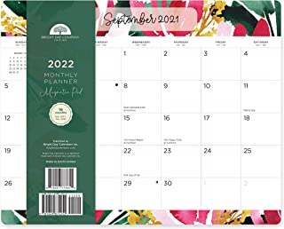 2022 Magnetic Refrigerator Calendar Wall Calendar Pad by Bright Day, 16 Month 8 x 10 Inch, Rosako Calligraphy