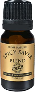 Prime Natural Spicy Saver Essential Oil Blend 10ml