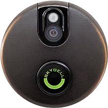Skybell Sb200W Wi-Fi Video Deurbel Met Bewegingssensor, Bronskleurig