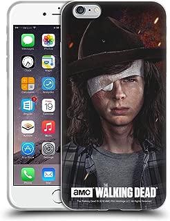 Official AMC The Walking Dead Carl Season 8 Portraits Soft Gel Case Compatible for iPhone 6 Plus/iPhone 6s Plus