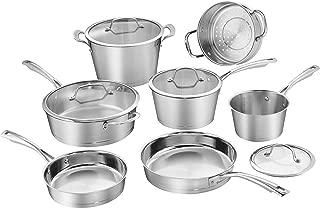 Cuisinart 72I-11 Conical Stainless Steel Cookware Set, Medium