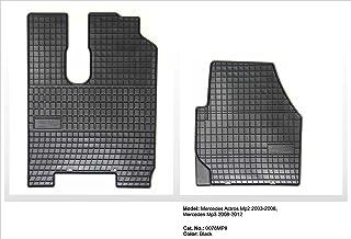 Alfombras tapices para mitsubishi l200 a partir de 2015 negro goma antideslizante set ALFOMBRILLAS COCHE