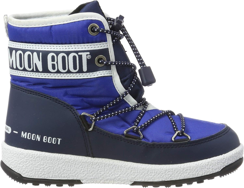 Moon-boot Jr Boy Mid WP Botas de Nieve Ni/ños