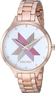 Nine West NW/2250SVRG Reloj de pulsera de tono oro rosa para mujer