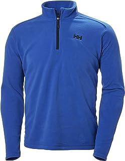 Helly Hansen Men's Daybreaker Lightweight Half Zip Fleece Jacket, 563 Olympian Blue, XXXXX-Large