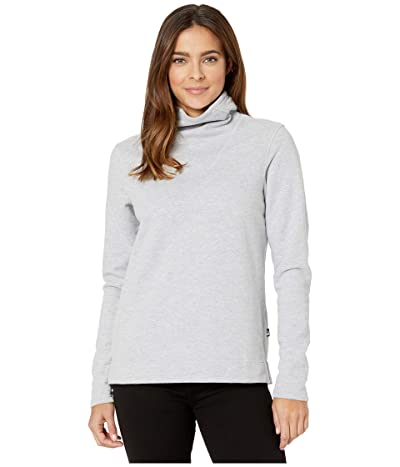 The North Face Hayes Funnel Neck Top (TNF Light Grey Heather) Women