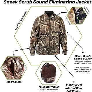 SneekTec Sneek Suit - Sound Eliminating Camo Hunting Gear...