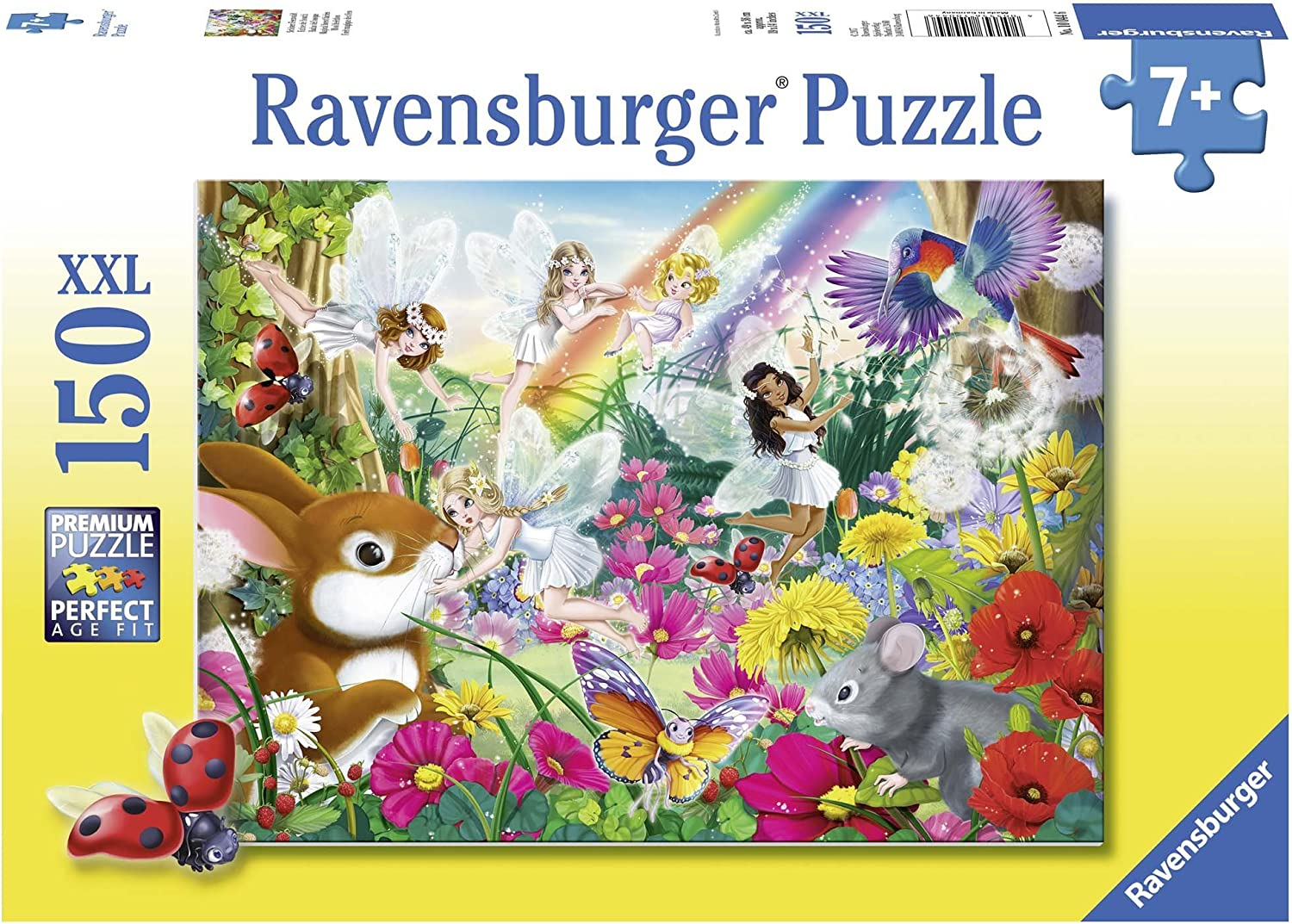 Challenge the lowest Boston Mall price of Japan ☆ Ravensburger 10044 Magical Forest Puzzles Fairies Jigsaw
