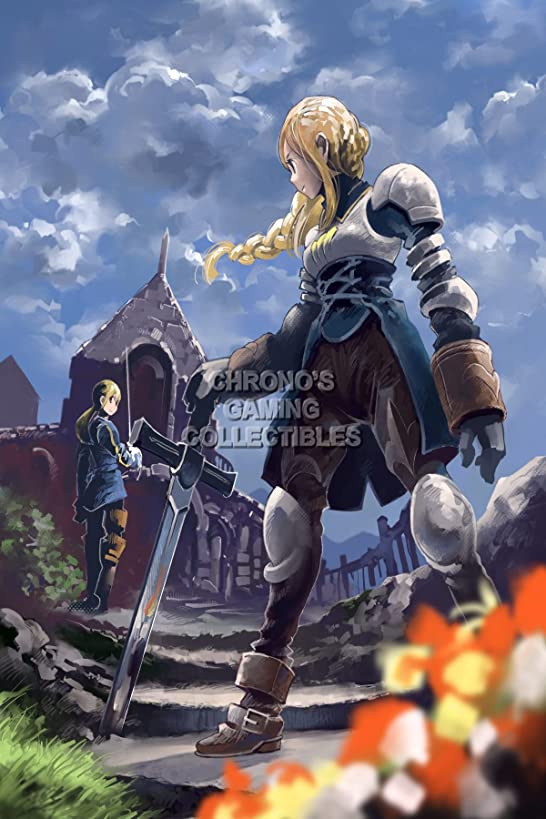 Final Fantasy CGC Huge Poster Tactics PS1 PS2 PSP Vita Nintendo DS GBA - FTA001 (24