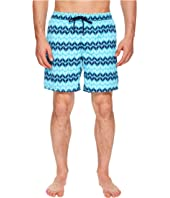 Zig Zag Printed Dale Swim Trunks