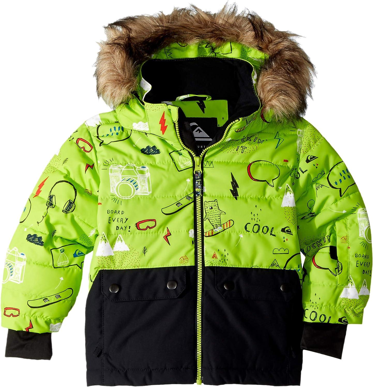 Quiksilver Big Boys' Edgy Kids 10K Grow System Snow Jacket