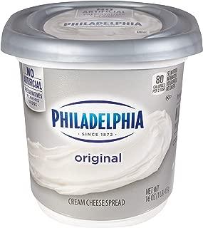 cream cheese block size