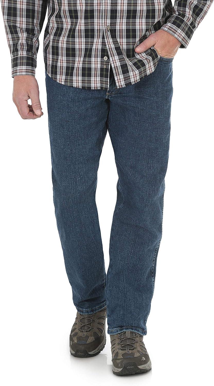 Wrangler Men's Performance Series Relaxed Fit Jeans - Light Stone