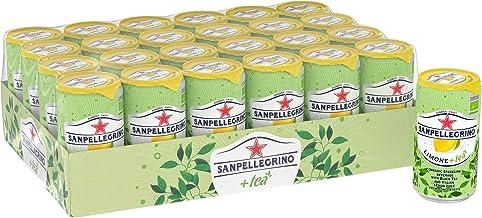 Sanpellegrino Sparkling Limone (Lemon) plus Tea, 24 x 250 ml