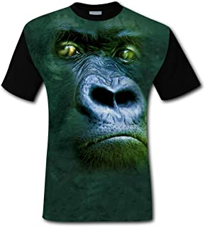 a05a12232fb 100% Cotton New Awesome Tshirt 3D Customized With Gorilla For Men