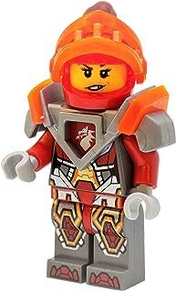 LEGO Nexo Knights Macy with Trans-Neon Orange Visor Minifigure
