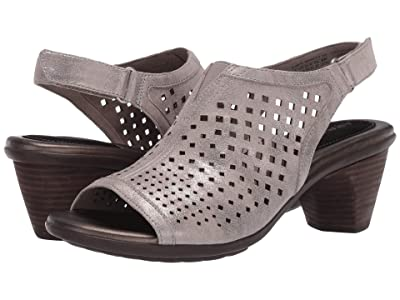 Aravon Medici Peep (Metallic Dove) Women