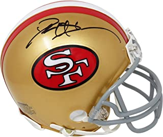 Deion Sanders Signed San Francisco 49ers Throwback Riddell Mini Helmet