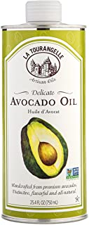 La Tourangelle Avocado Oil 25.4 Fl Oz, All-Natural, Artisanal, Great for Salads, Fruit, Fish or Vegetables, Great Buttery Flavor