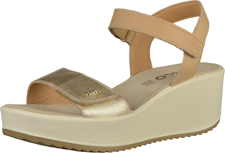 IGI&CO women's shoes wedge sandal 1176377 PLATINO