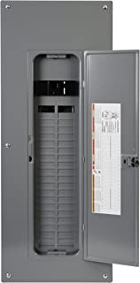 Square D by Schneider Electric HOM4080M200PC 200 Amp 40-Space 80-Circuit Indoor Main Breaker Load Center, Gray