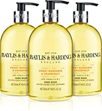 Baylis & Harding Sweet Mandarin & Grapefruit 500ml Hand Wash, Pack Of 3, 571 Gram