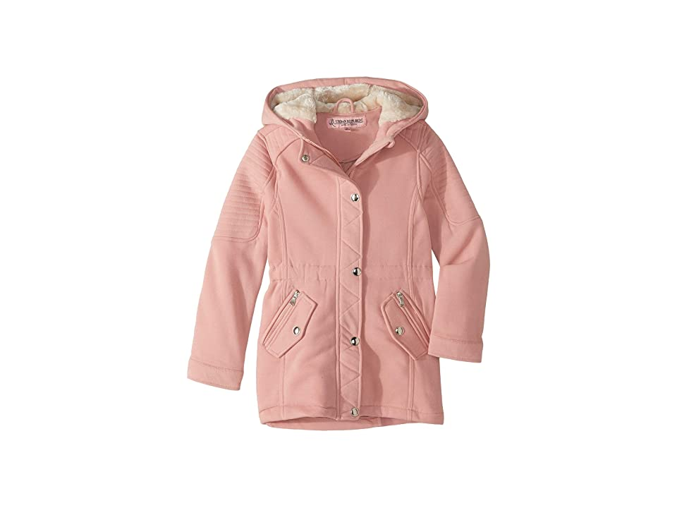Urban Republic Kids Rani Fleece Anorak Jacket (Little Kids/Big Kids) (Pink) Girl