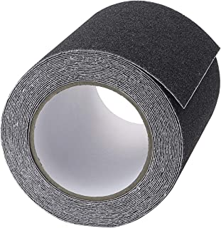 Favordrory 6 Inch x 20 Foot Anti Slip Traction Tape, Grip Tape Grit Non Slip, Outdoor Non Skid Treads, High Traction Frict...