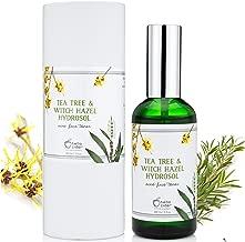 TEA TREE WITCH HAZEL FACE TONER - 100% Natural & Organic Ingredients, Astringent Facial Spray w/Apple Cider Vinegar - Reduce Blemish, Prevent Acnes, Restore pH, Tone. All Skin Type. Hello Cider