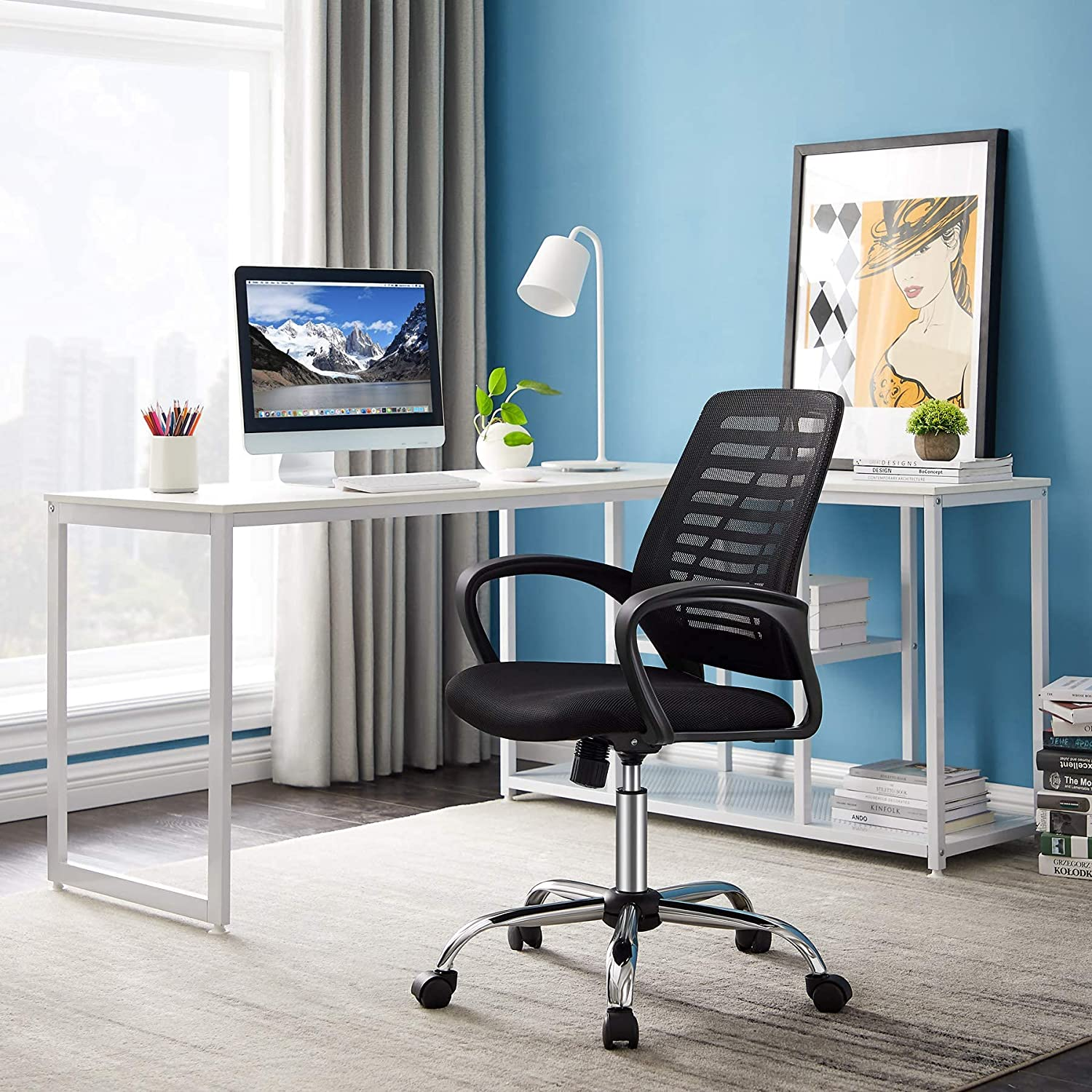 Limited Special Price Shipping included Home Office Task Chair Computer Mesh Ergonomic Tribesigns