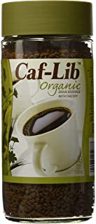 Caf-Lib Organic Coffee Alternative with Barley and Chicory 150-Gram