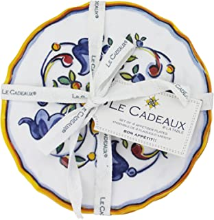 Amazon Com Appetizer Plates Melamine Appetizer Plates Plates Home Kitchen