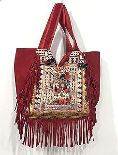 49e9d54a6c Tribal Gypsy Hand Bag Vintage Banjara Shoulder Bag Handmade Women's Hobo Bag  Hand Embroidered Work Hippie