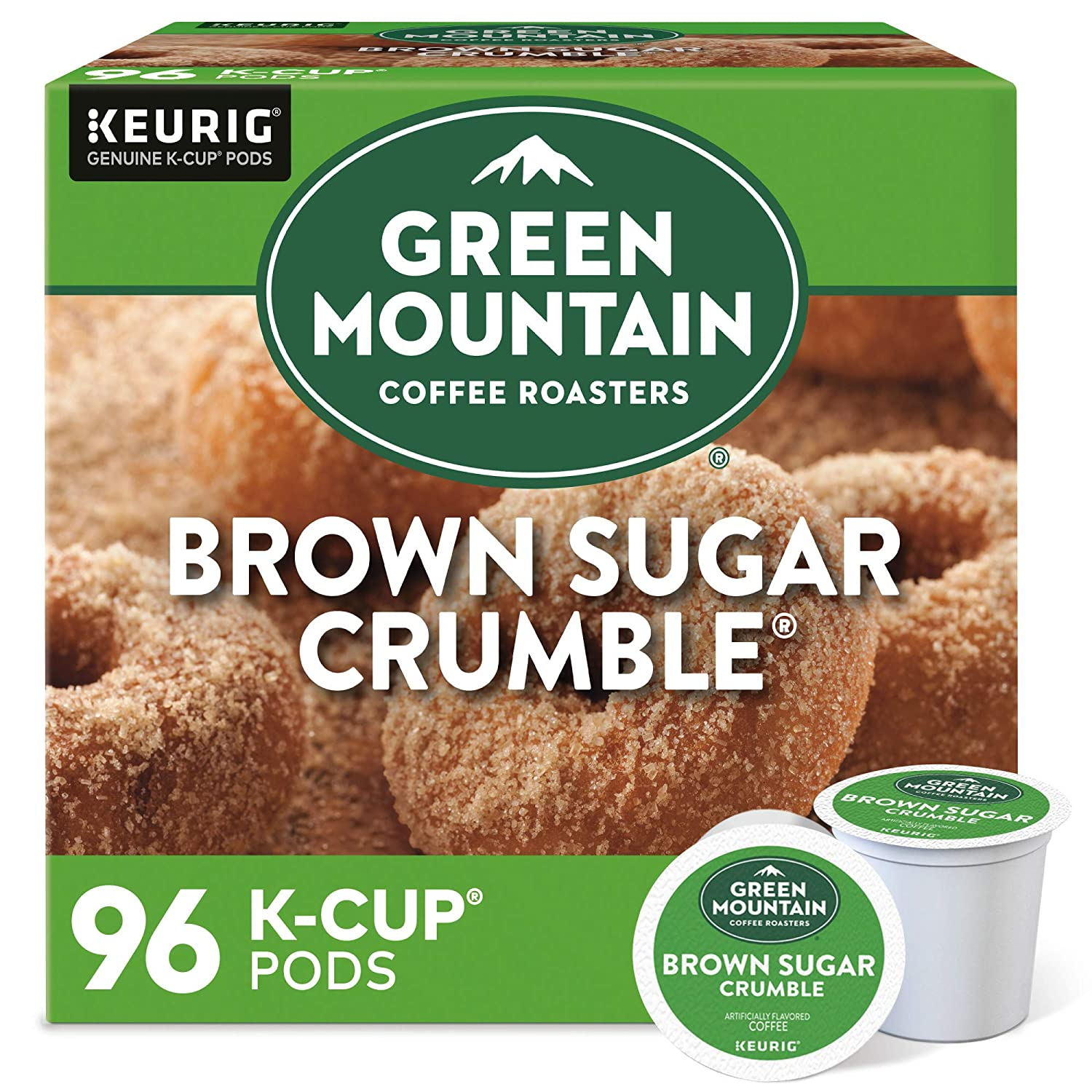 Green Mountain Coffee Brand new Brown Sugar All items in the store Keurig Single-Serve K Crumble