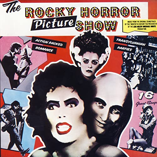 Image result for rocky horror picture show album cover