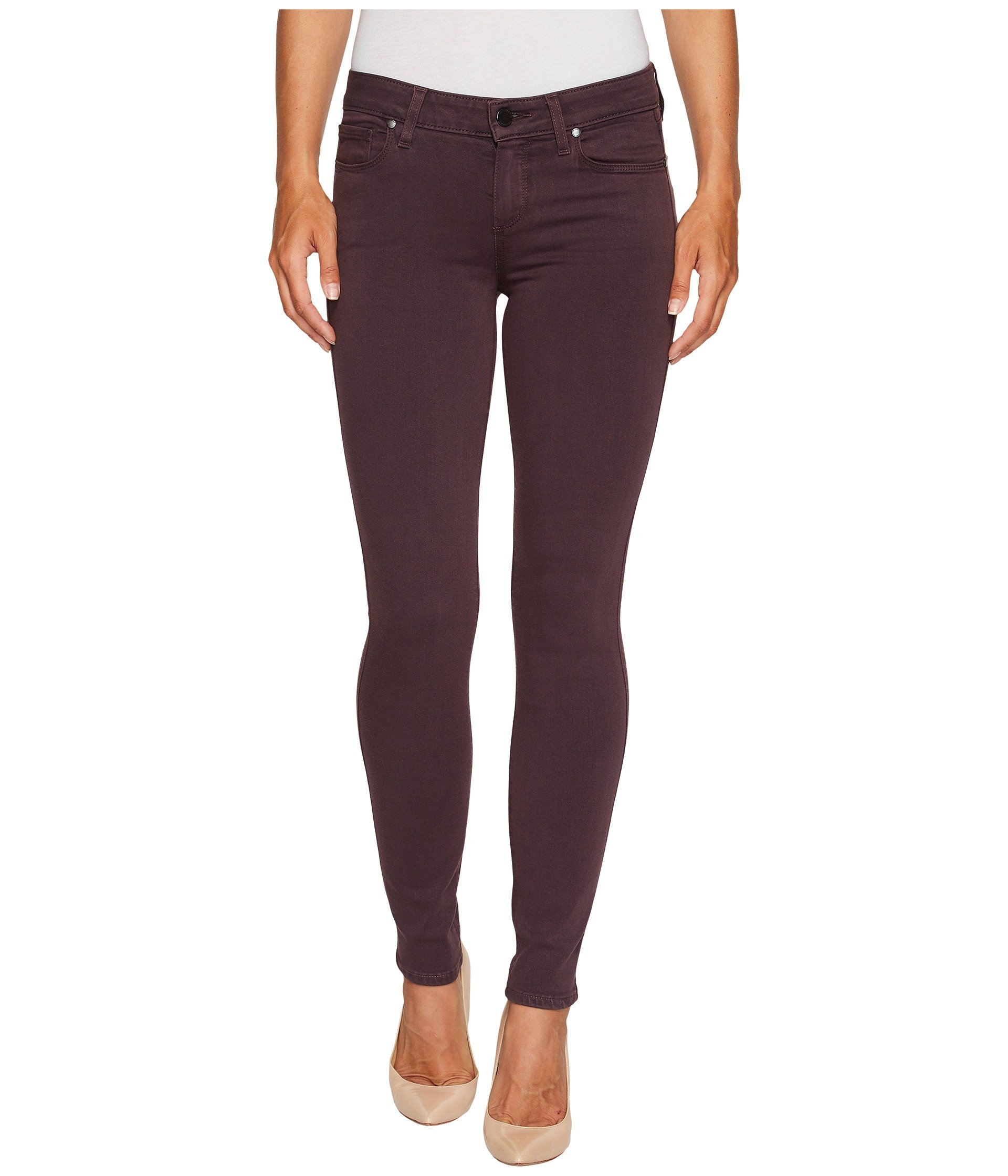 Jean para Mujer Paige Verdugo Ankle in Faded Mulberry  + Paige en VeoyCompro.net