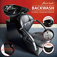 Artist Hand Backwash Salon Shampoo Ceramic Bowl Silk Unit Barber Chair Beauty Spa Equipment (Style 3)
