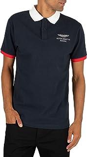 Hackett London Men's AMR Polo Shirt, Blue