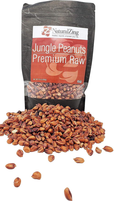 Wild Jungle Peanuts Raw Organic 16 Max 54% OFF oz. 2021new shipping free