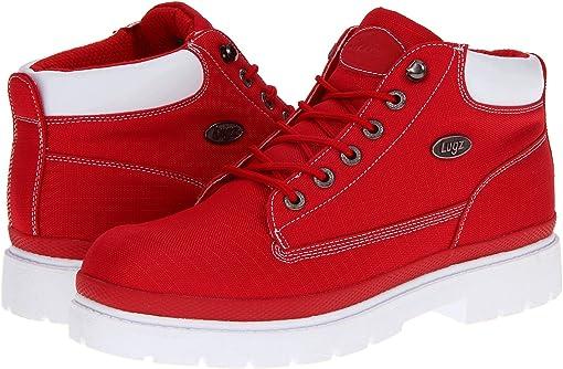 Red/White Textile