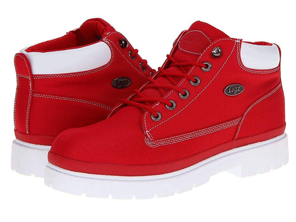Lugz Drifter Ripstop (Red/White Textile) Men