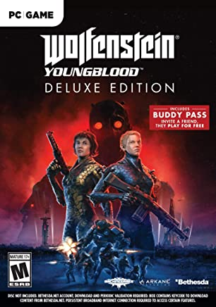 Amazon com: Wolfenstein: Youngblood - PC Deluxe Edition: Video Games