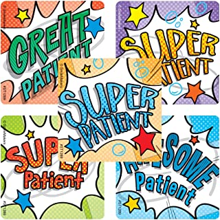 SmileMakers Super Patient Stickers - Prizes 100 per Pack