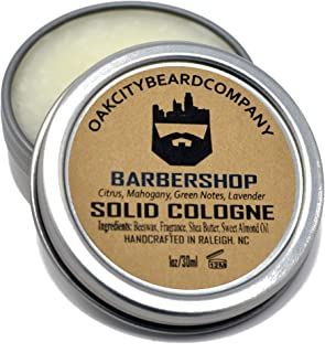 OakCityBeardCo. - BarberShop - Men's Solid Cologne - 1oz