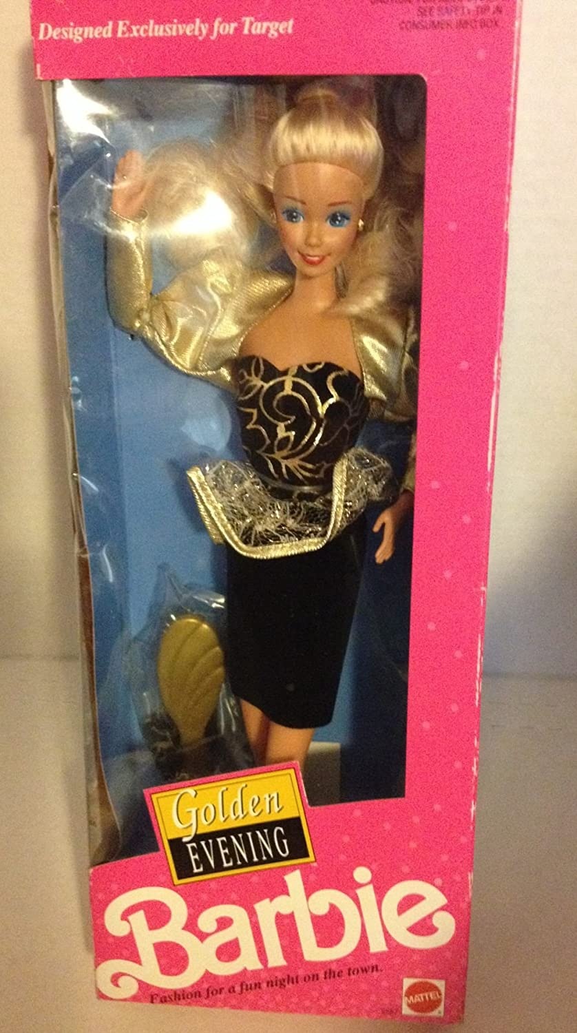 Golden free shipping Evening Barbie Doll Exclusive Target free shipping - 1991