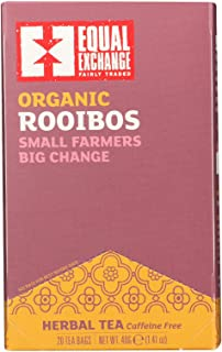 Equal Exchange Herbal, Rooibos Tea (6/20 BAG)